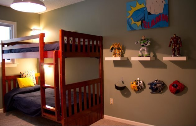 Best 18 Astounding Superhero Themed Kids Room Designs That With Pictures