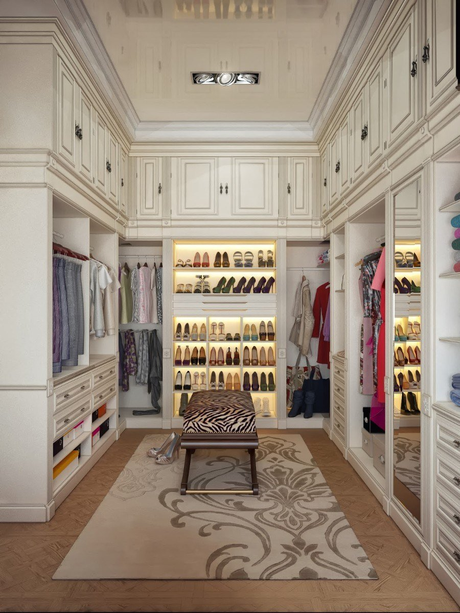 Best 14 Walk In Closet Designs For Luxury Homes With Pictures