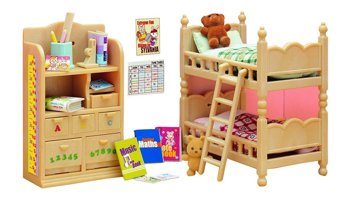Best Sylvanian Families Children S Bedroom Furniture With Pictures