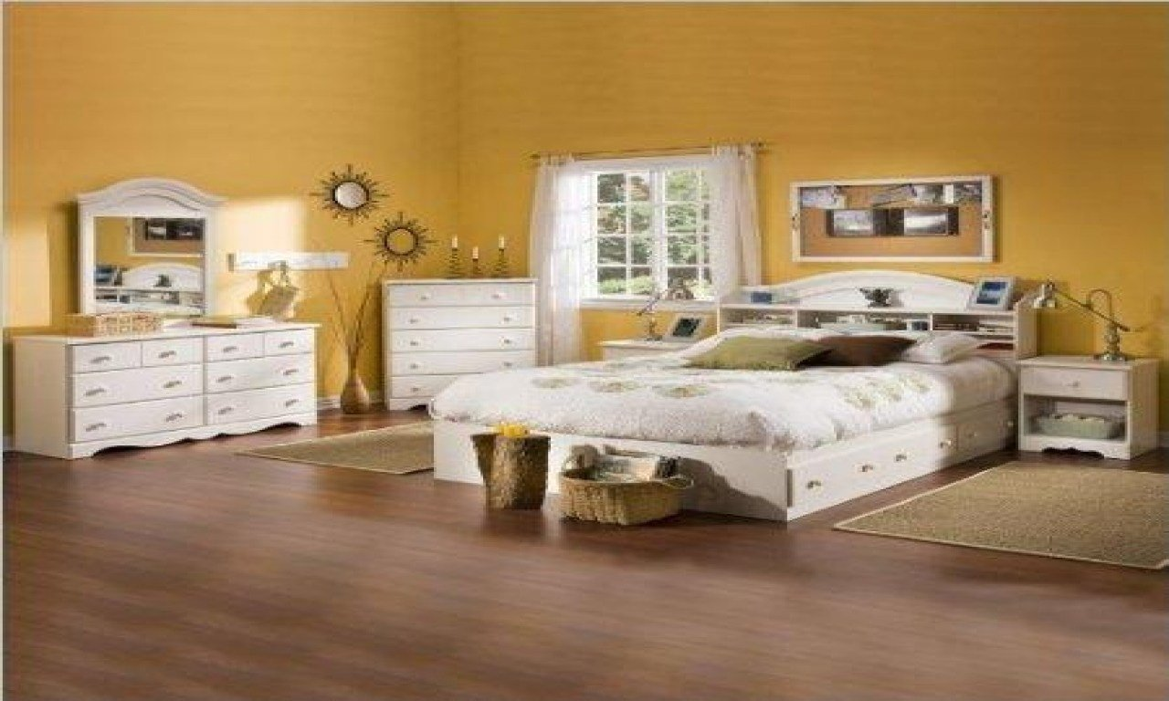 Best White Bookcase Headboard Full Kids Full Size Bedroom Sets With Pictures