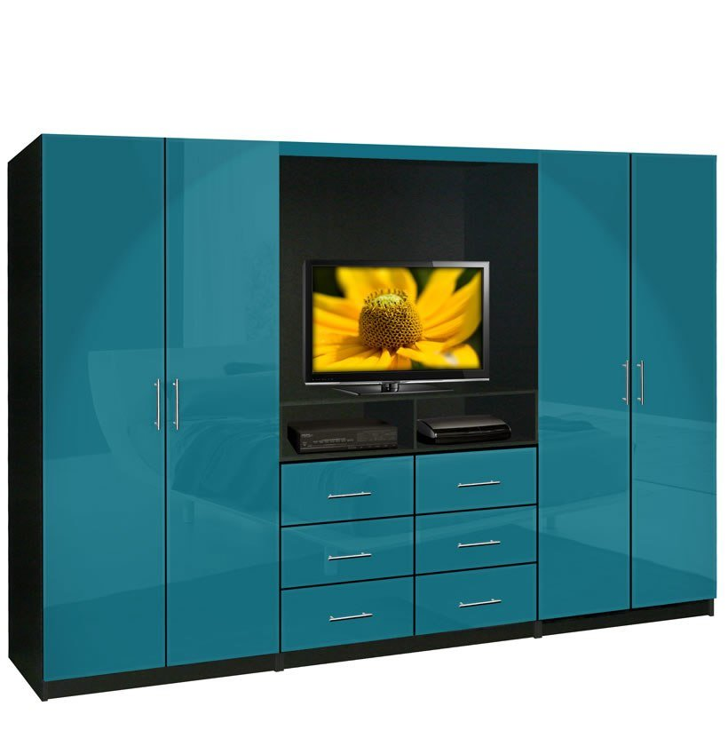 Best Aventa Tv Wardrobe Wall Unit Free Standing Bedroom Tv With Pictures