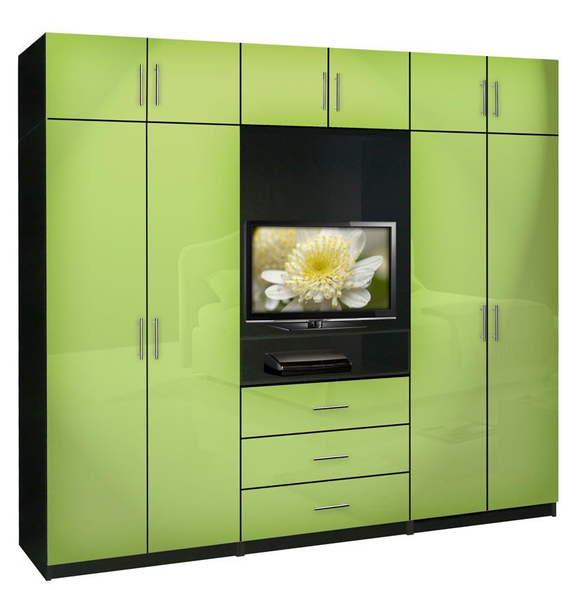 Best Aventa Bedroom Wall Unit X Tall Tv Wall Unit W Extra Bedroom Storage Contempo Space With Pictures