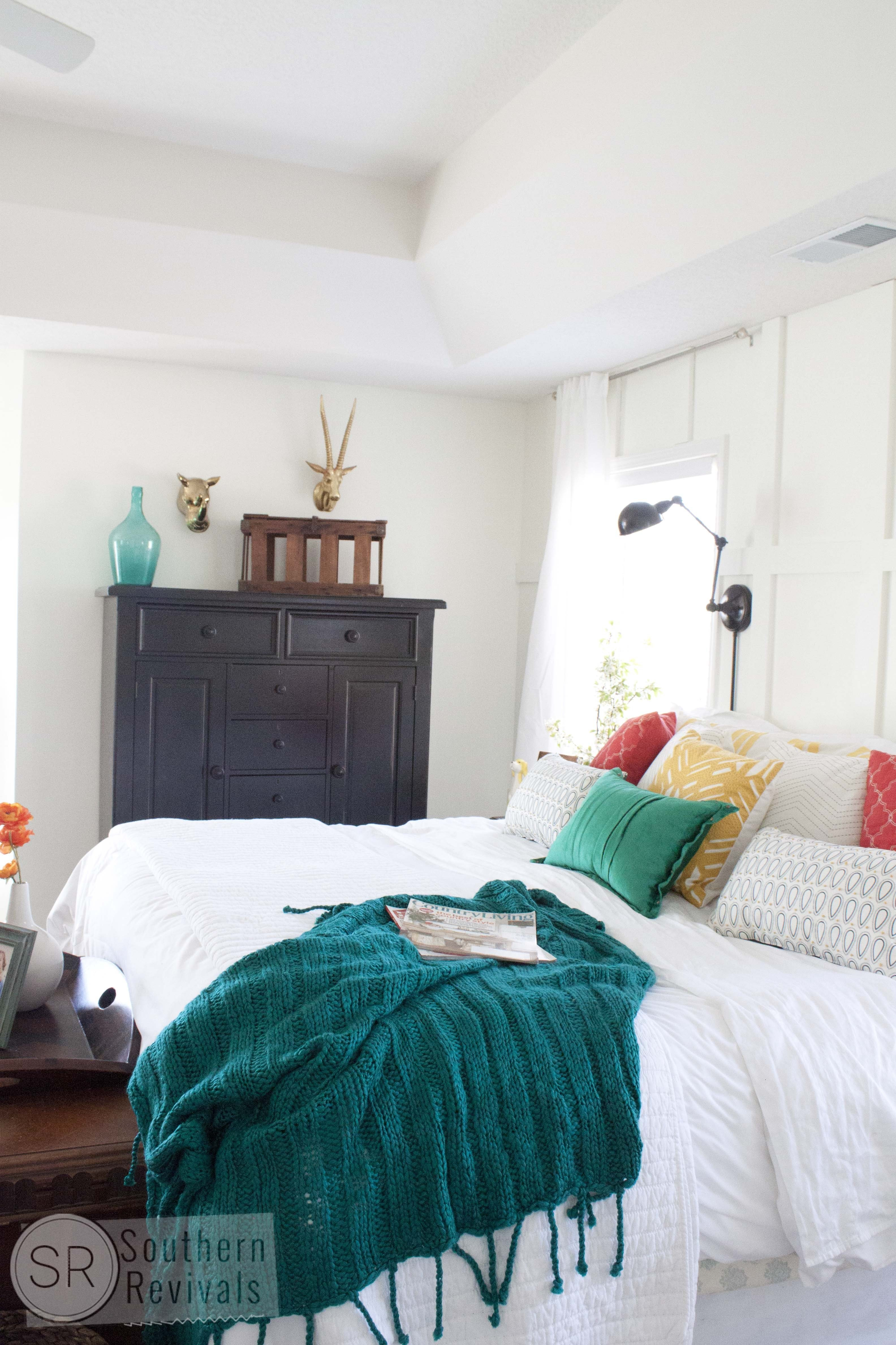 Best My Under 500 Master Bedroom Makeover Southern Revivals With Pictures