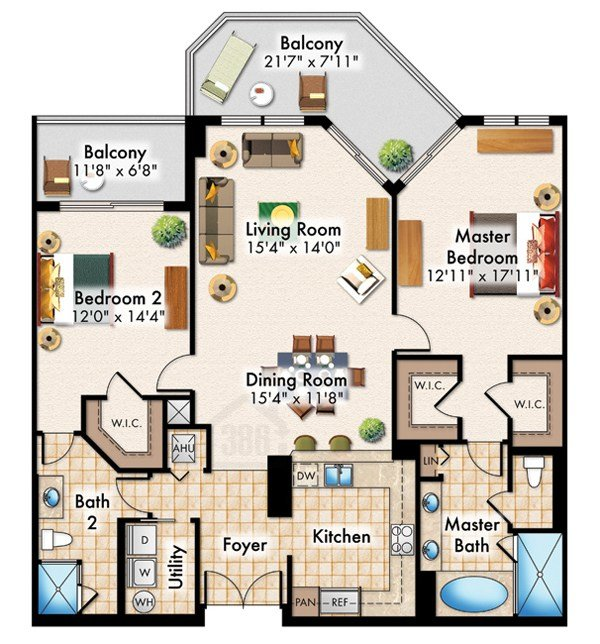 Best Halifax Landing Condominium Floor Plans With Pictures