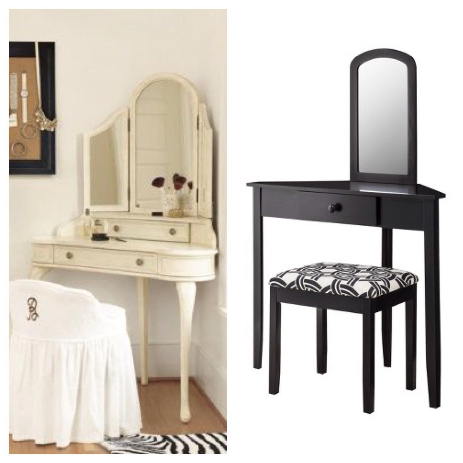 Best Bedroom Cozy Makeup Table Walmart For Modern In Bedroom Ideas Decoration — Chikidsinvent Org With Pictures