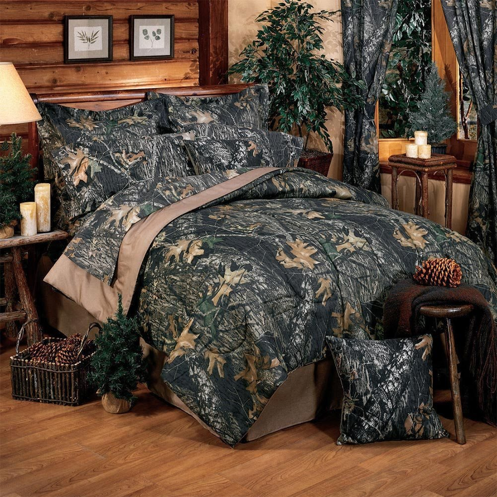Best New Breakup Camo Comforter Ez Bedding Sets Cabin Place With Pictures