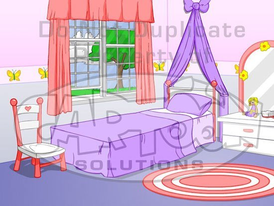 Best Girl S Bedroom Flash Animate Cartoon Solutions With Pictures