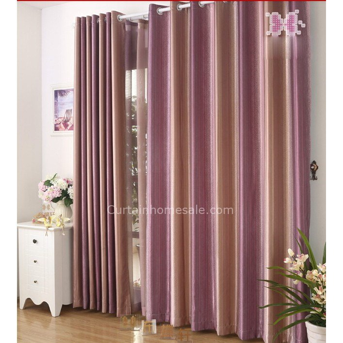 Best Buy Curtains In Ombre Purple Color For Living Room Or Bedroom With Pictures