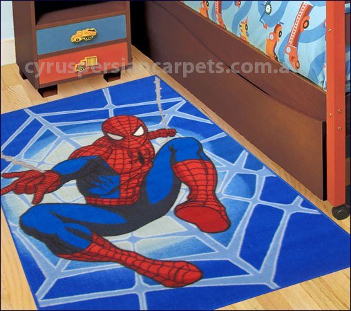 Best Disney Spiderman Blue Kids Rug Spiderman Kids Rug With Pictures
