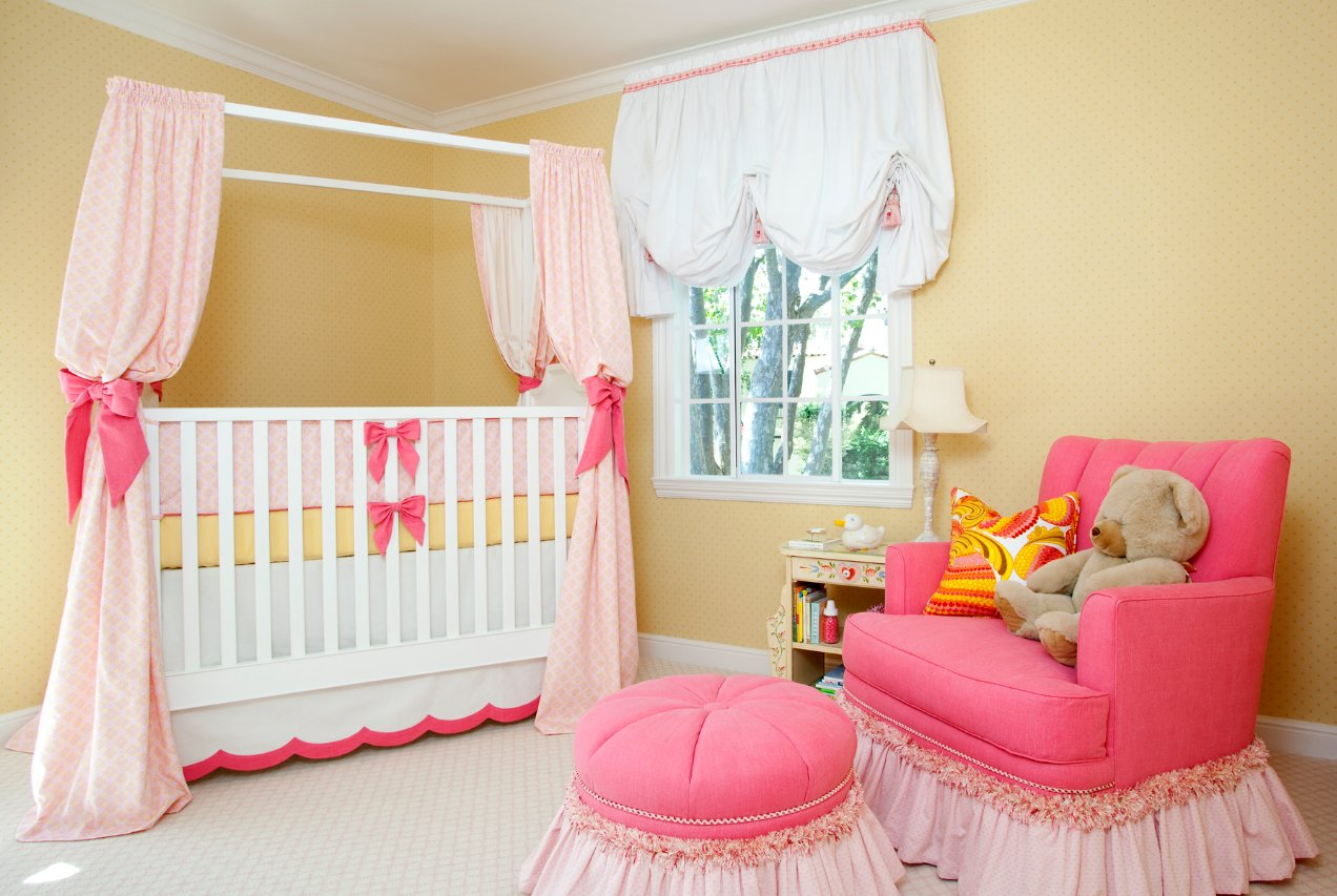 Best Sweet Pink Yellow Baby Girl Nursery By House Of Ruby With Pictures