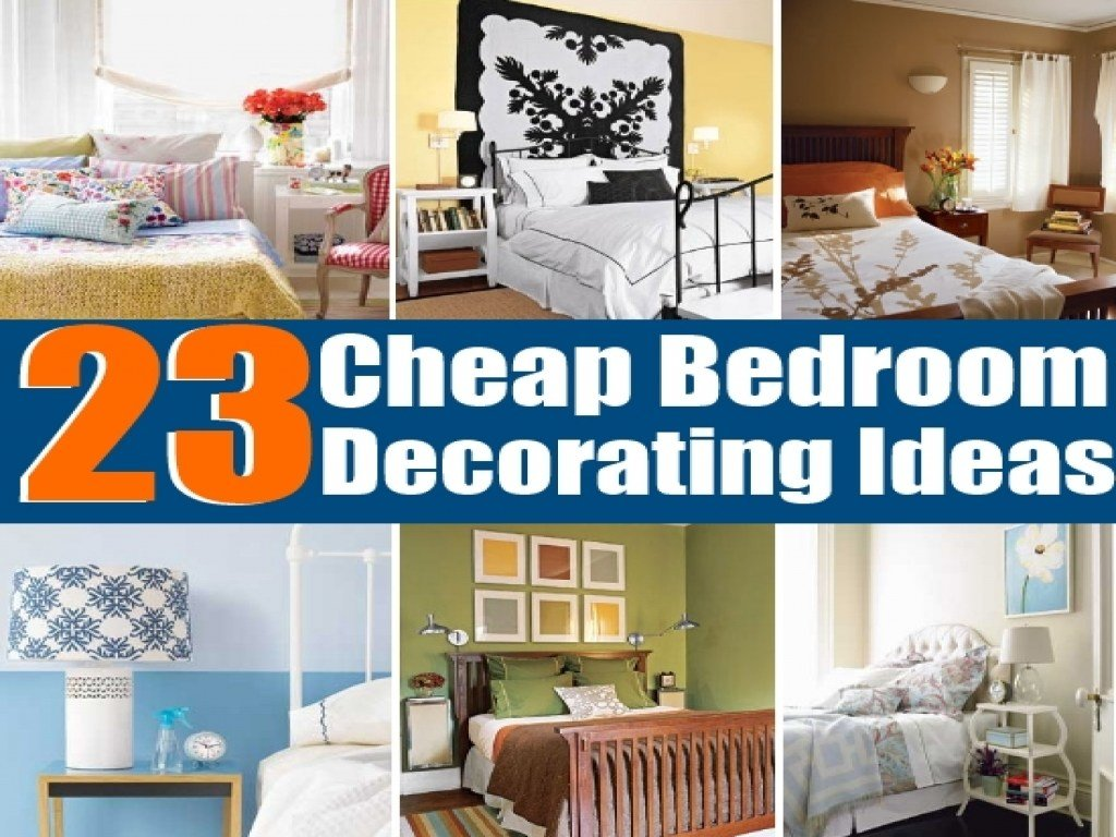 Best Cheap Bedroom Decorating Ideas Easy Diy Bedroom With Pictures