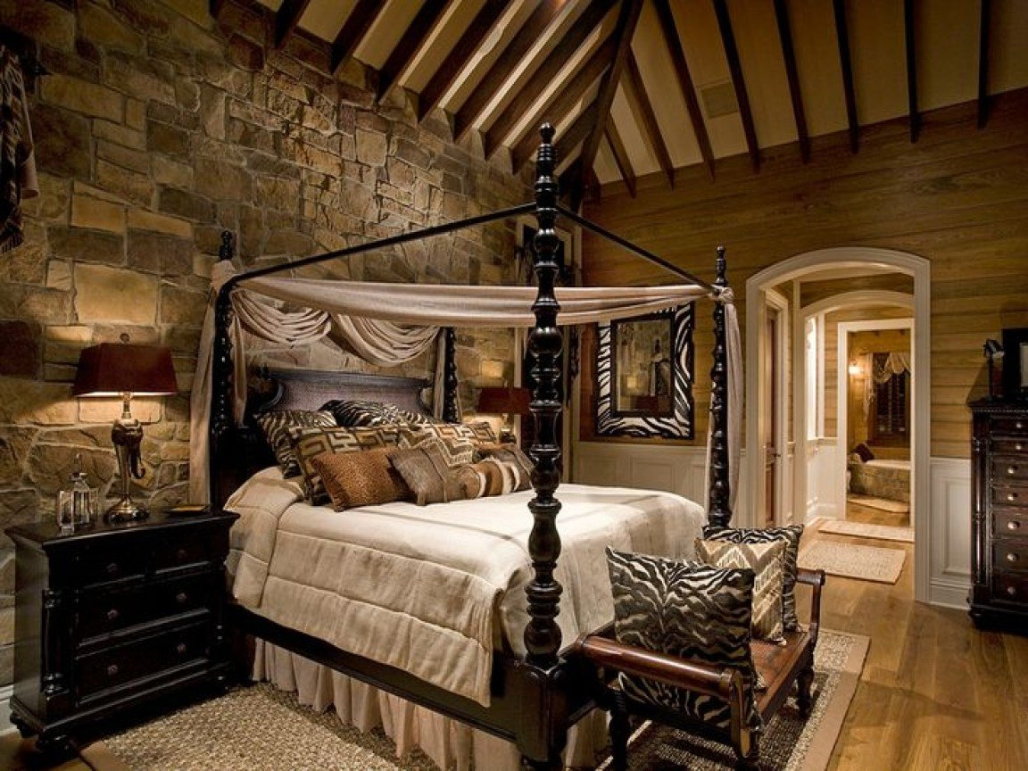 Best Rustic Bedroom Ideas Rustic Master Bedroom Decorating With Pictures