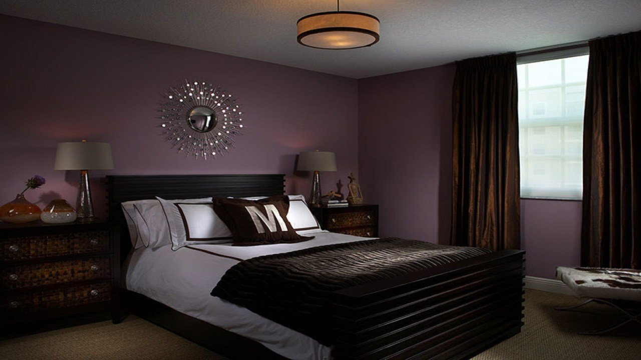 Best Black Bedroom Designs Purple And Brown Master Bedroom With Pictures