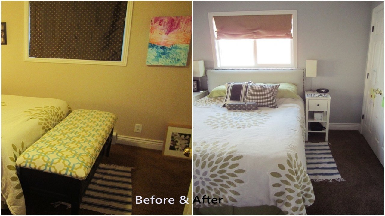 Best Arranging Furniture In A Small Bedroom Small Bedroom With Pictures