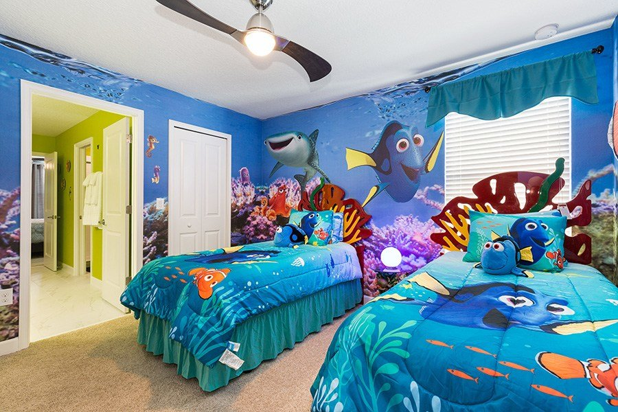 Best Sunkissed Villas Sunkissed Villas Championsgate Resort Nemo And Dory Bedroom With Pictures