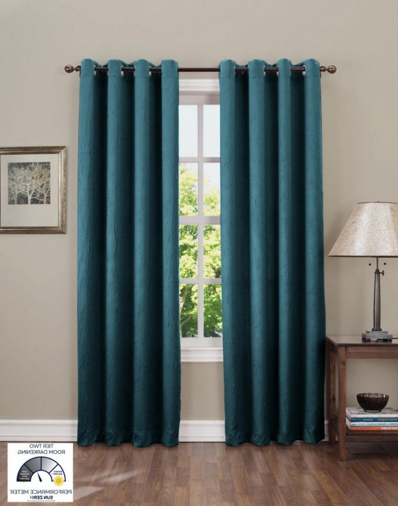 Best Deep Teal Blue Curtains Aqua Bedroom Curtains Dact Target With Pictures