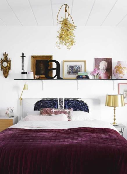 Best Reader Question Cream Purple Gold Bedroom With Pictures