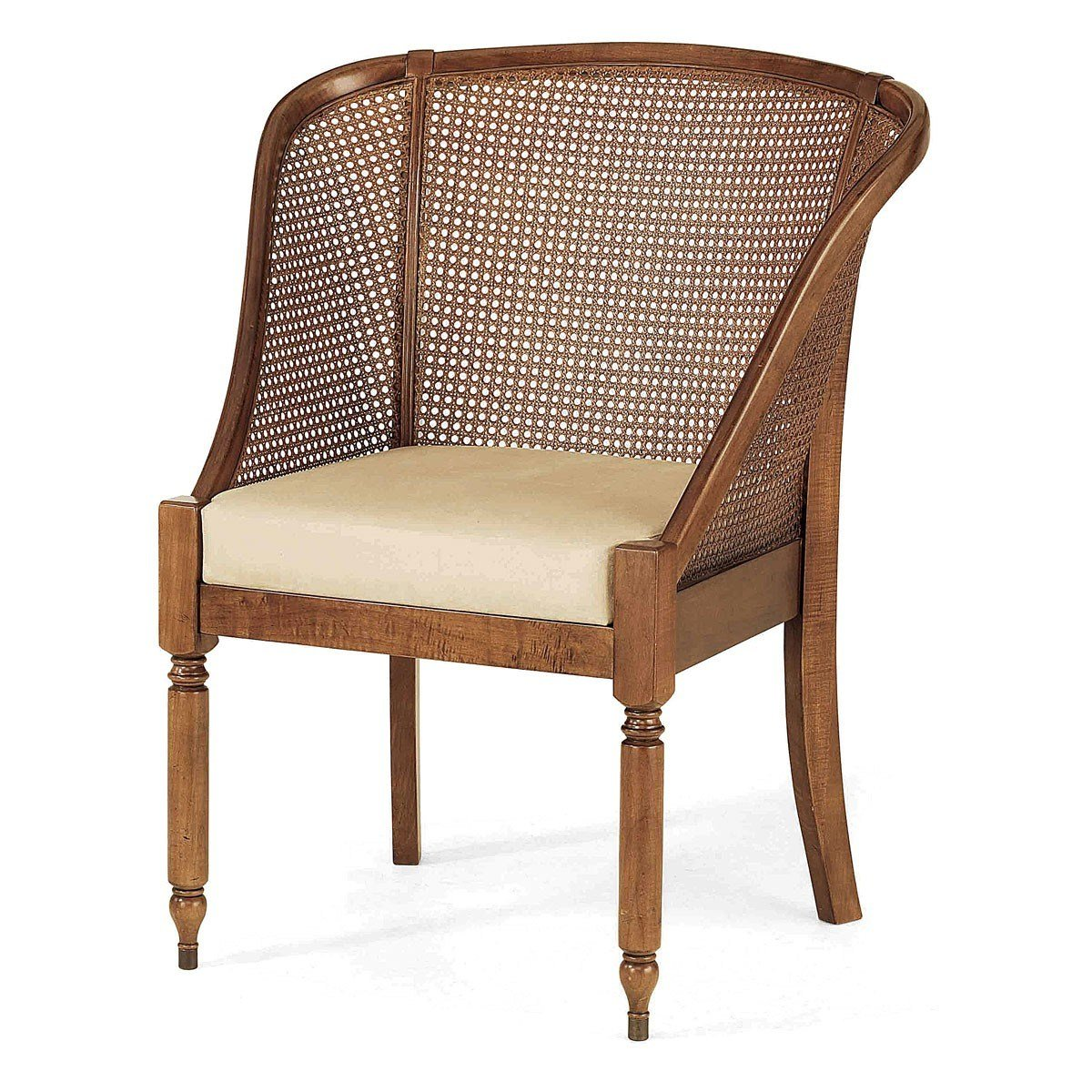 Best Lille French Rattan Back Bedroom Chair French Chairs With Pictures