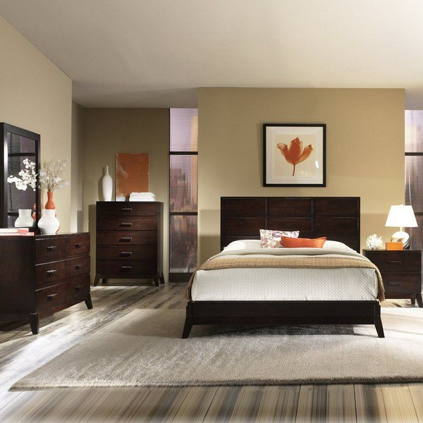 Best 25 Dark Wood Bedroom Furniture Decorating Ideas With Pictures
