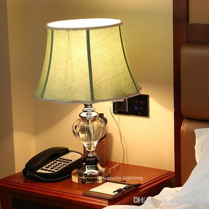 Best Luxary Classic European Bedroom Table Lamp Foyer American With Pictures