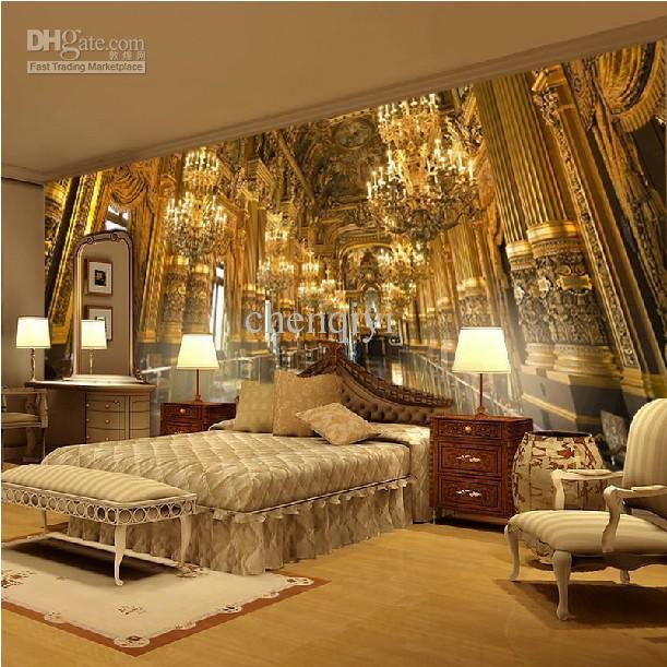 Best Can Be Customized Large Scale Mural 3D Wallpaper Wall With Pictures