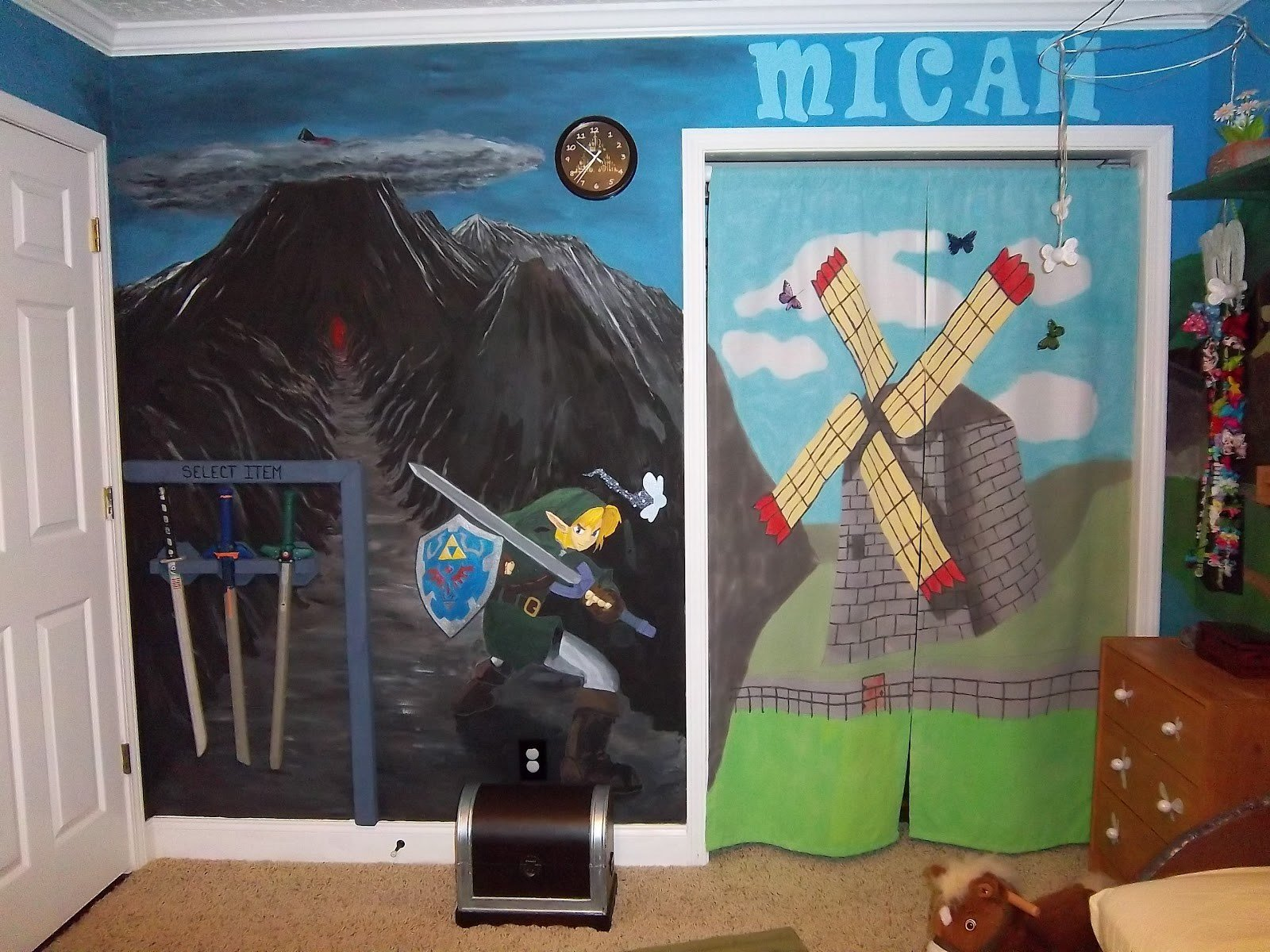 Best Nerdy Kids Room Of The Day Bedroom Becomes All Of Legend Of Zelda The Mary Sue With Pictures