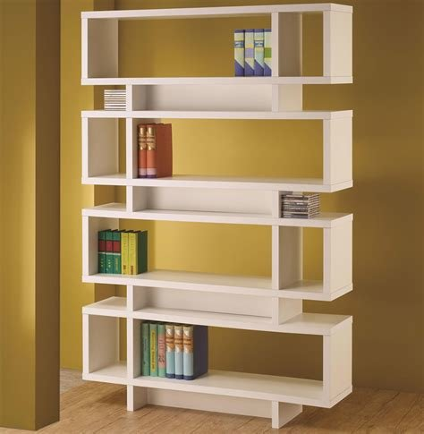 Best Chicago Furniture Store White Modern Bookcase With Pictures