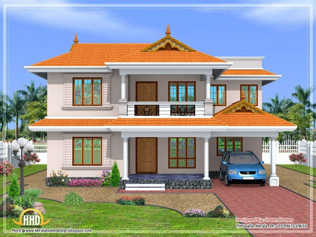 Best Kerala 3 Bedroom House Plans Kerala Style House Design With Pictures