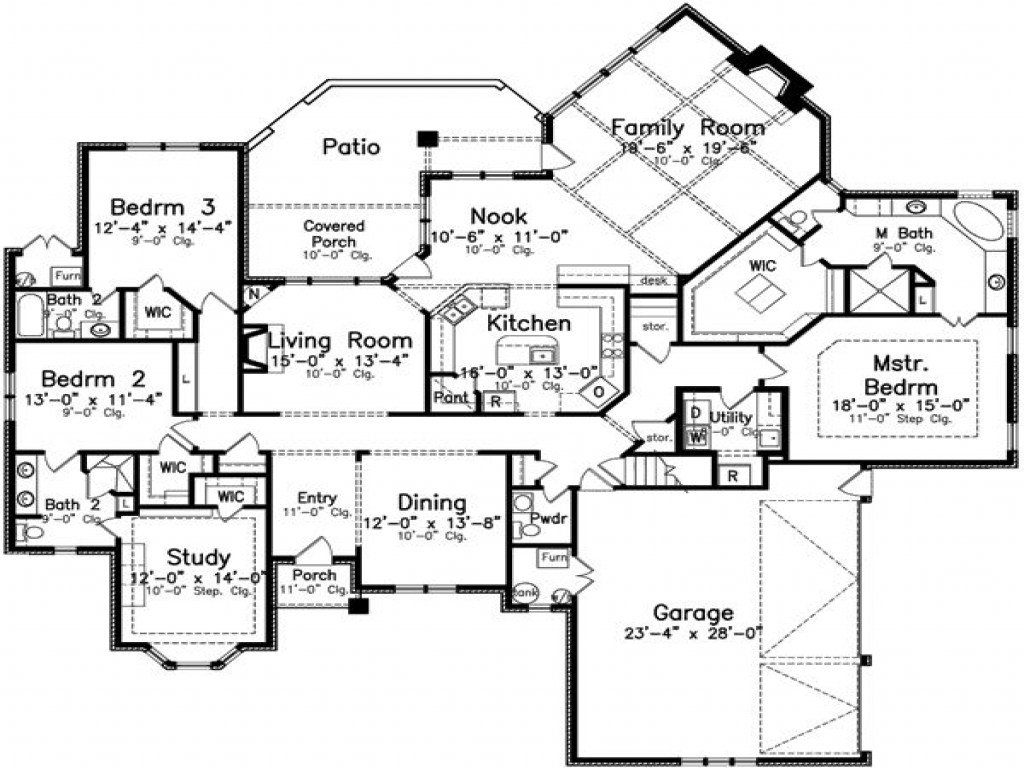 Best 4 Bedroom 3 Bath House Plans 4 Bedroom 3 Bath Appartments With Pictures