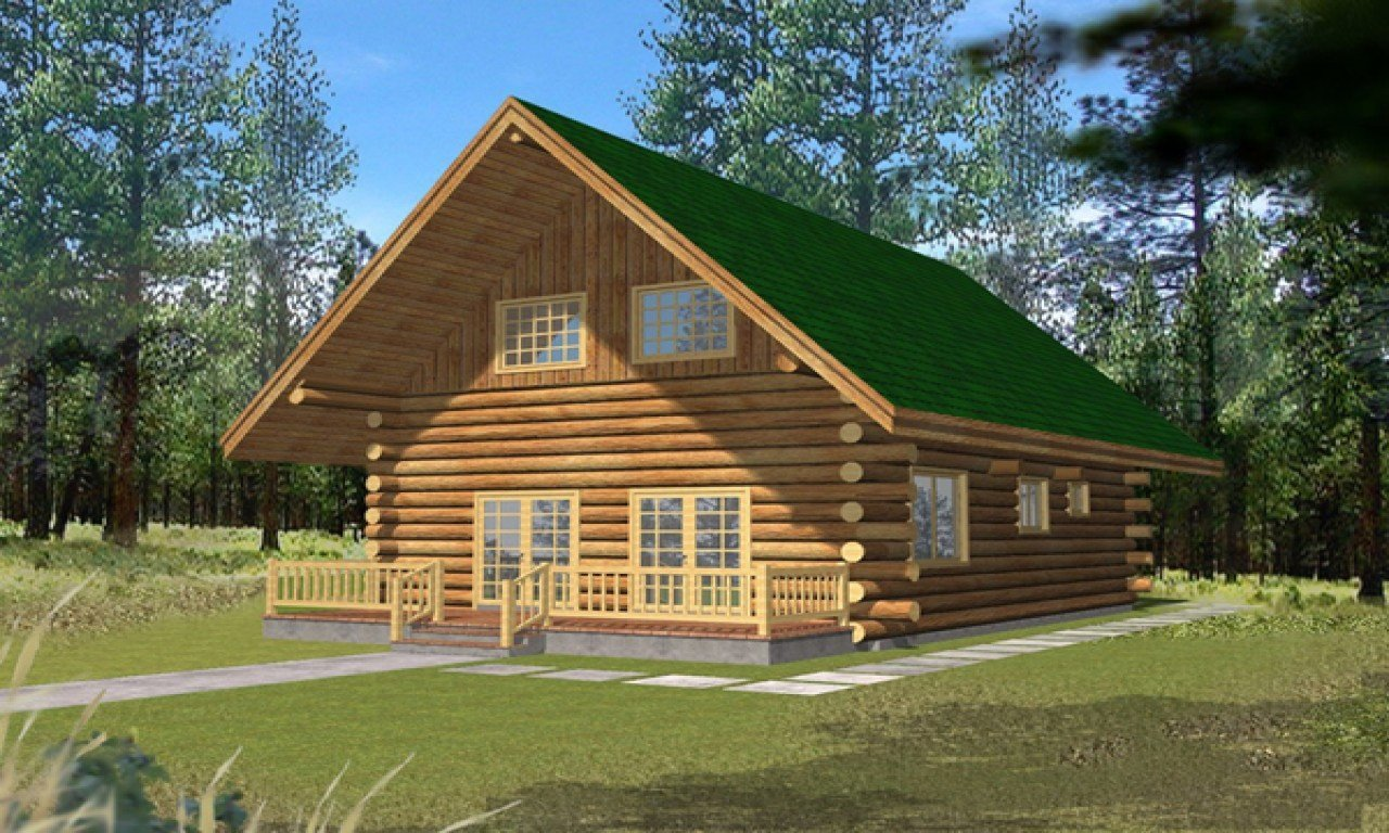 Best Small Log Cabins With Lofts 2 Bedroom Log Cabin Homes Kits Small Vacation Home Plans With Pictures