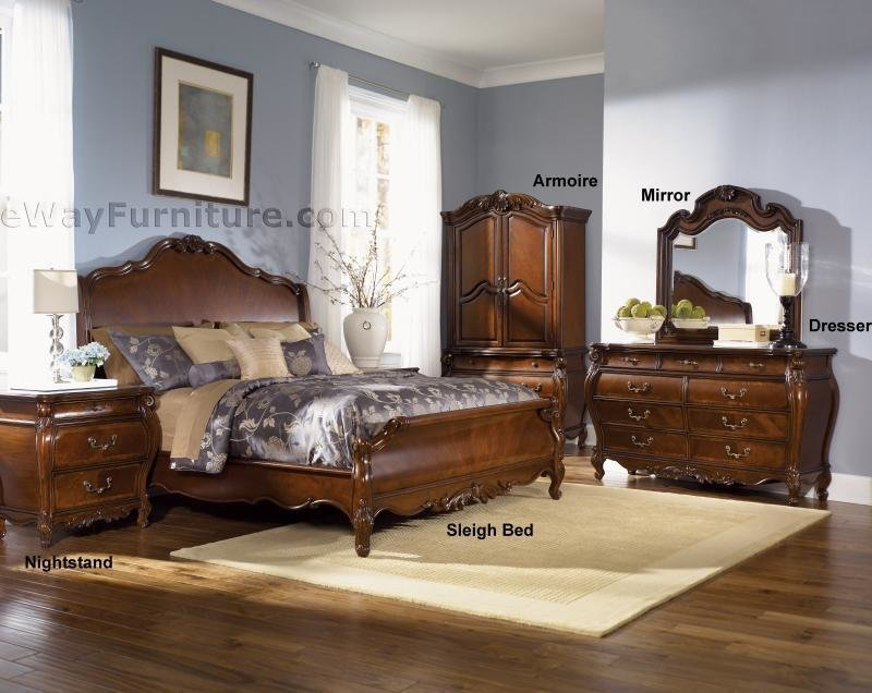 Best Royal Orleans Sleigh Bedroom Set With Pictures