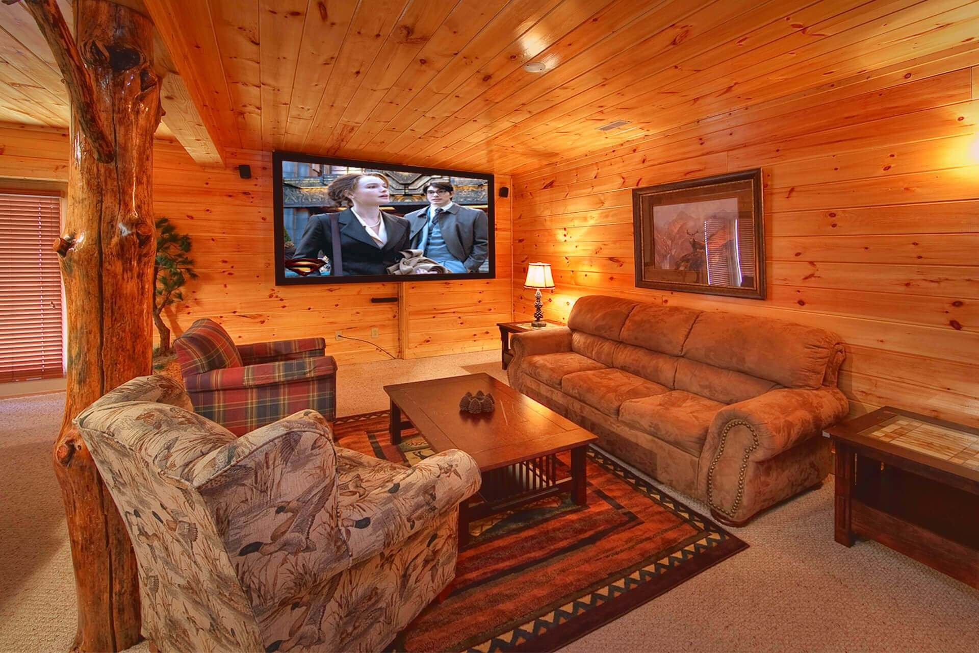 Best Mountain Magic 3 Bedroom Cabin With Theater Room Elk With Pictures