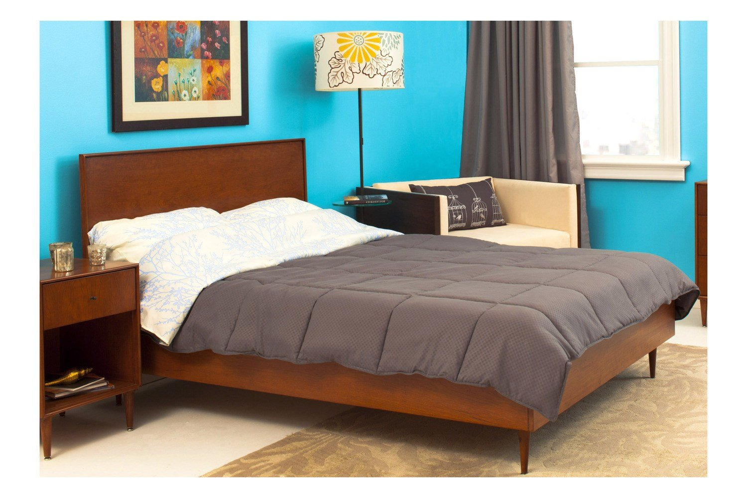 Best Midcentury Modern Queen Bed Beds Bedroom By Urbangreen With Pictures