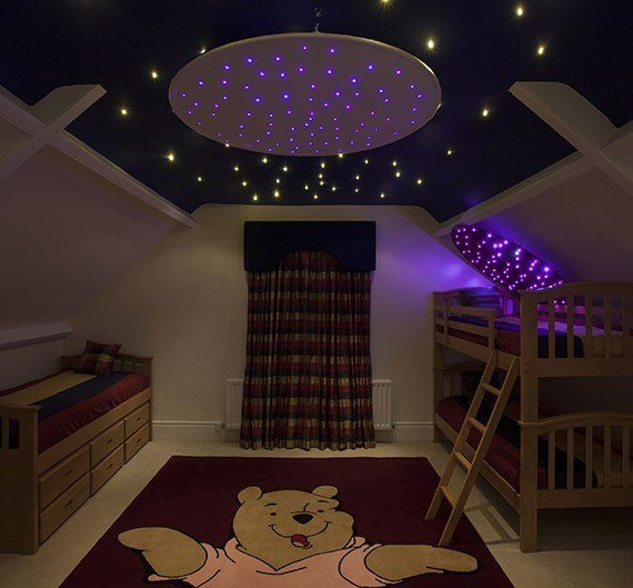 Best Fiber Optic Star Ceiling Ring Fiber Optic Lighting Kits With Pictures