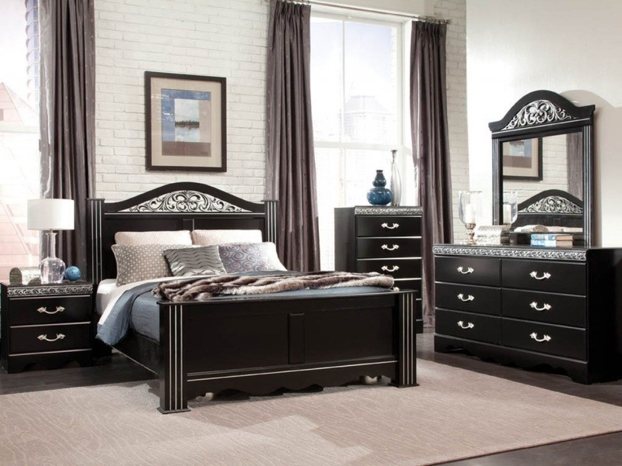 Best Modern Bedroom Sets Cheap Bedroom Modern Black Bedroom With Pictures