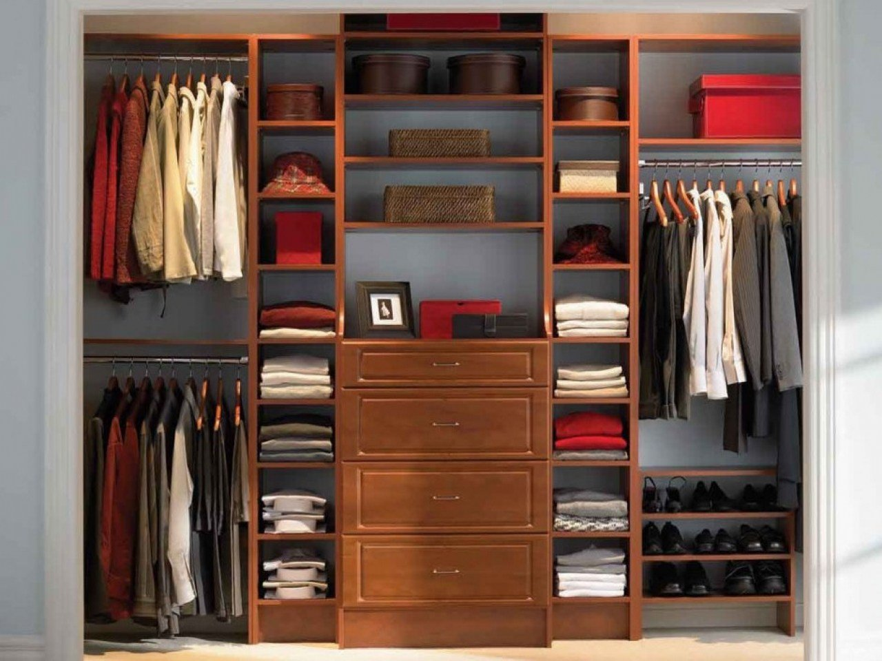 Best Wall To Walk Storage Cabinets Bedroom Wall Storage With Pictures