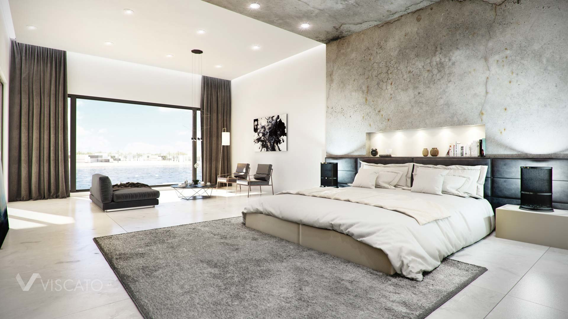 Best Concrete Finished Modern Bedroom – Viscato With Pictures