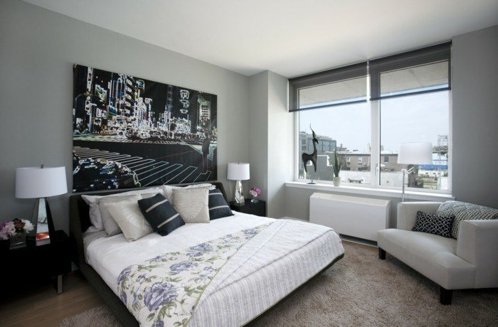 Best Bedroom In Gray 88 Bedrooms With Significant Presence Of With Pictures