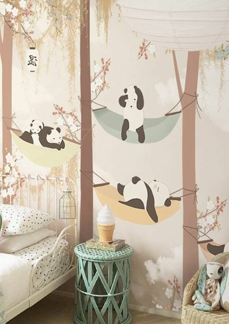 Best Colored Wallpapers For Children's Room With Fun Motifs With Pictures
