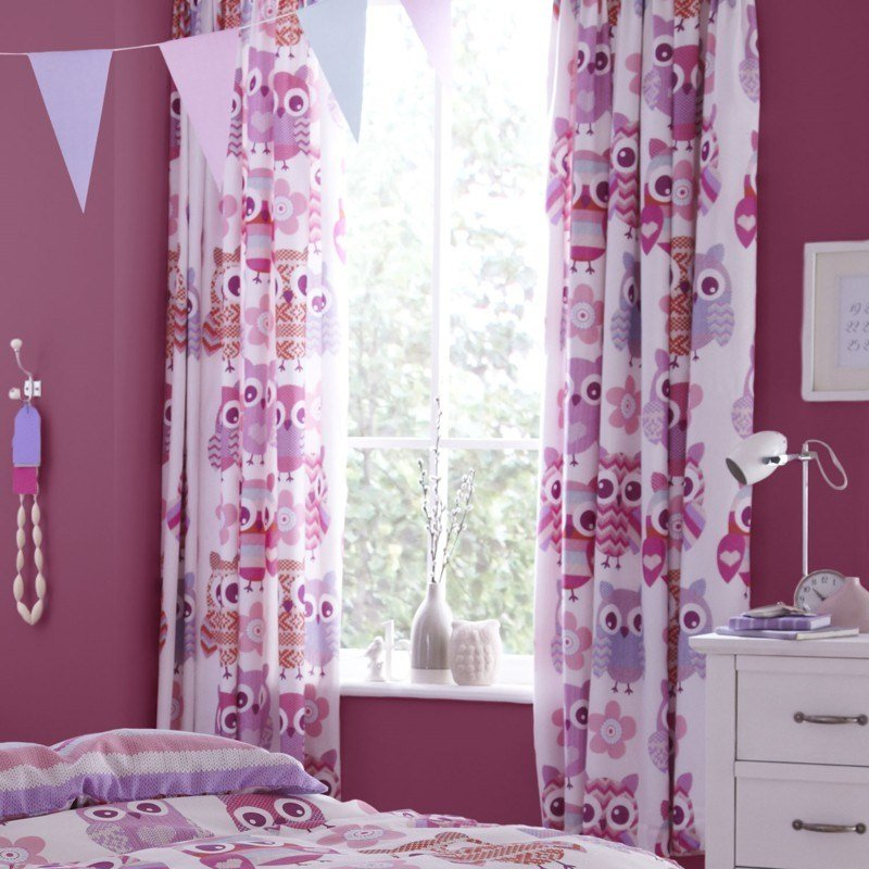 Best Kids Curtains Liven Up The Nursery With Fun Patterns With Pictures