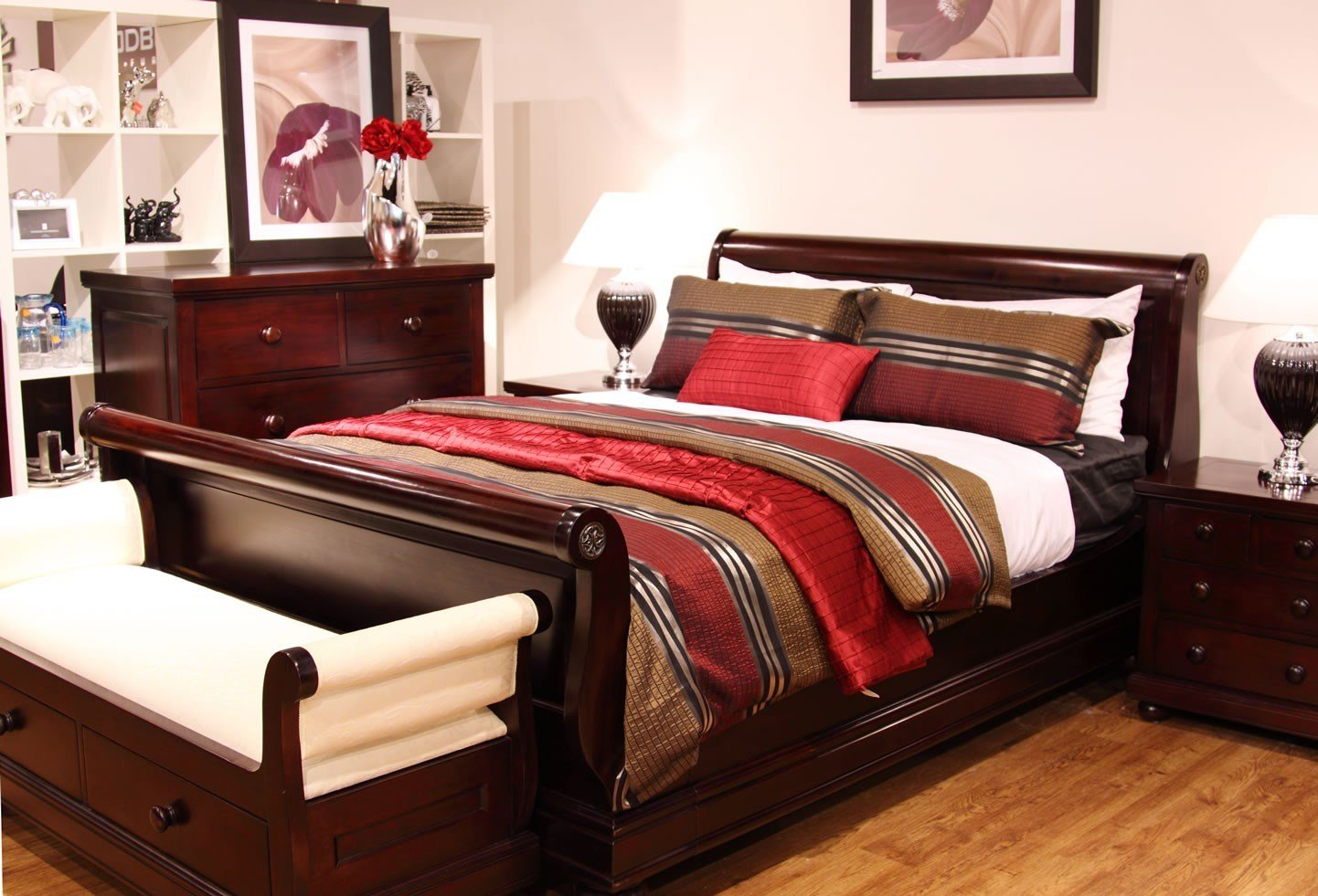 Best Antoinette 4 Piece Mahogany Bedroom Suite With Pictures