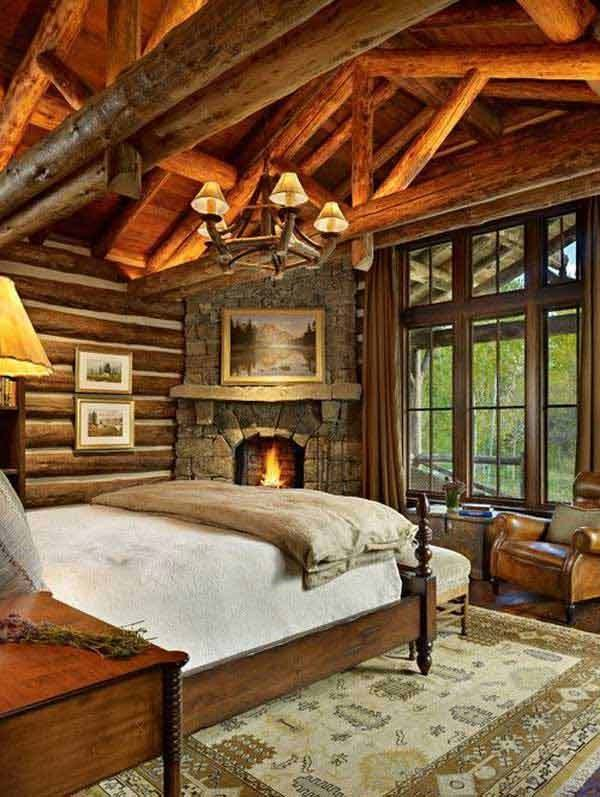 Best 22 Inspiring Rustic Bedroom Designs For This Winter With Pictures