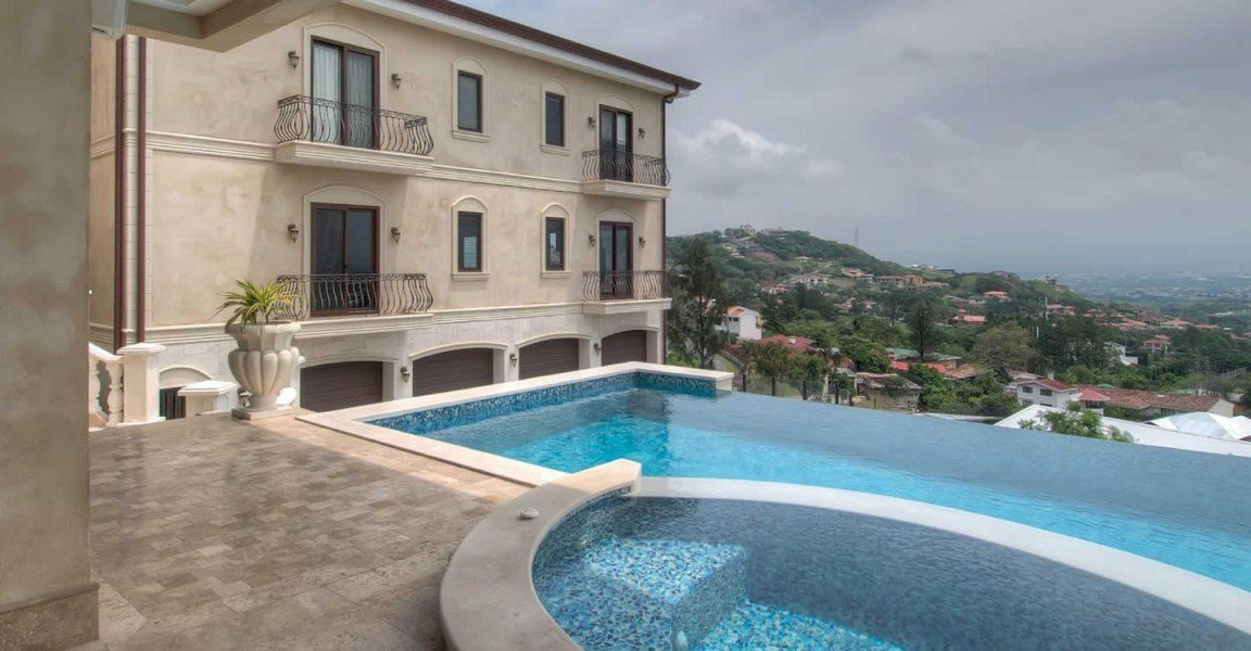 Best Lavish 4 Bedroom Luxury Home For Sale Escazu San Jose With Pictures
