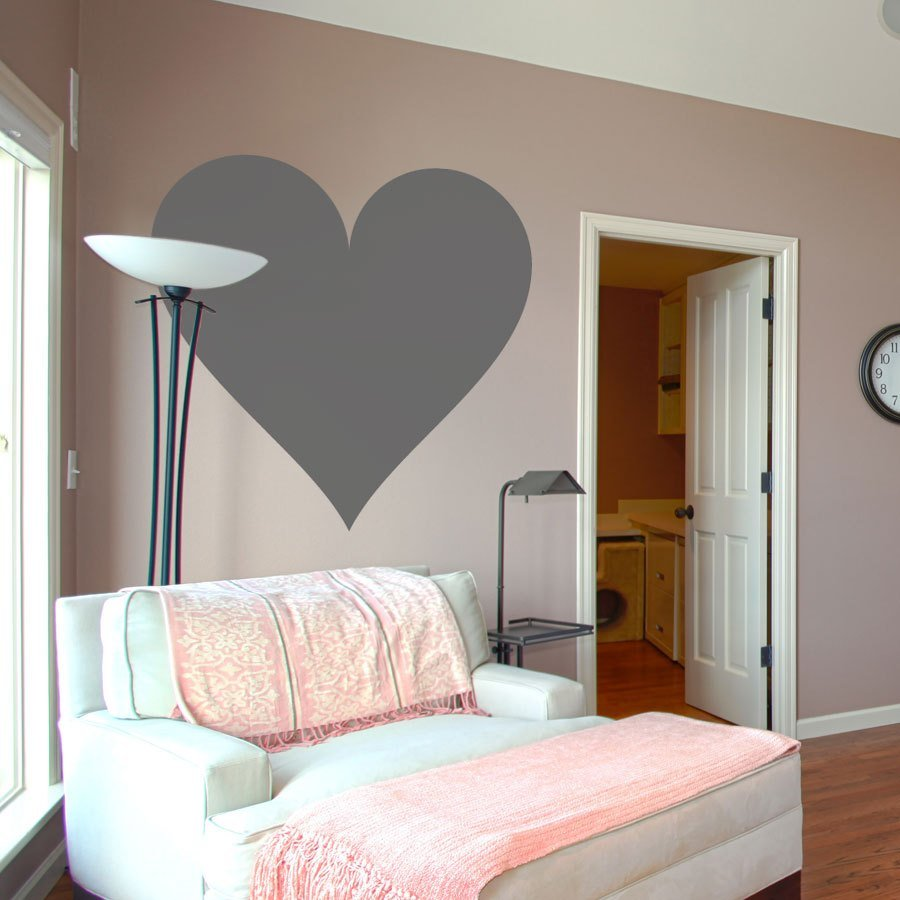 Best Deluxemodern Heart Wall Decal Love Heart Wall Sticker With Pictures