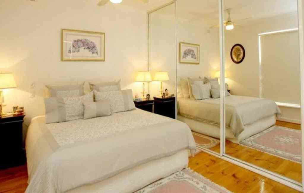 Best Large Mirrors In A Small Bedroom With White Walls And With Pictures