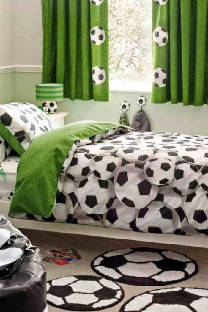 Best Ideas To Create A Soccer Bedroom For Your Kids With Pictures