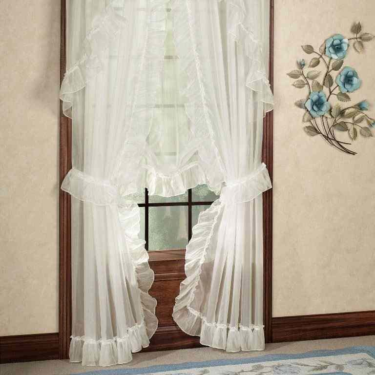 Best White Sheer Long Priscilla Curtains Elegant And Classic With Pictures