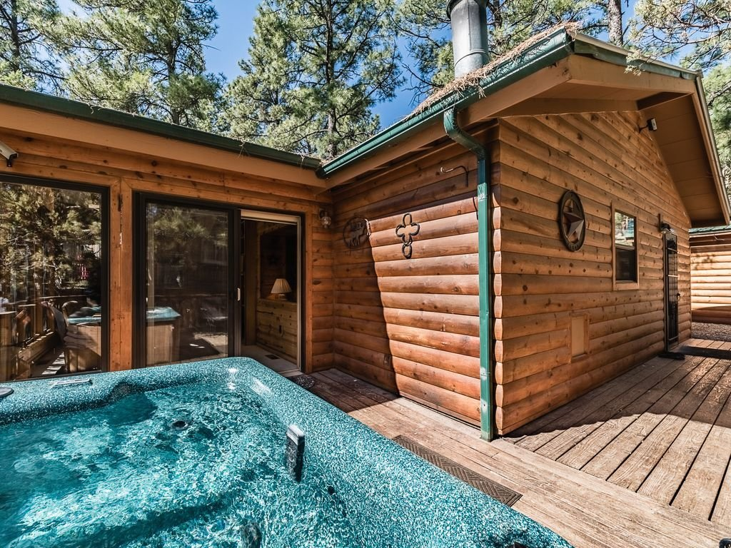 Best Casa Bonita Bedroom Log Cabin With Private Hot Tub Ruidoso With Pictures