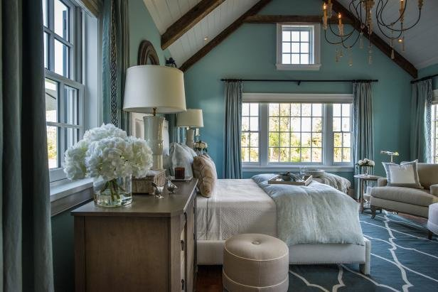 Best Hgtv Dream Home 2015 Turquoise Bedroom With Pictures