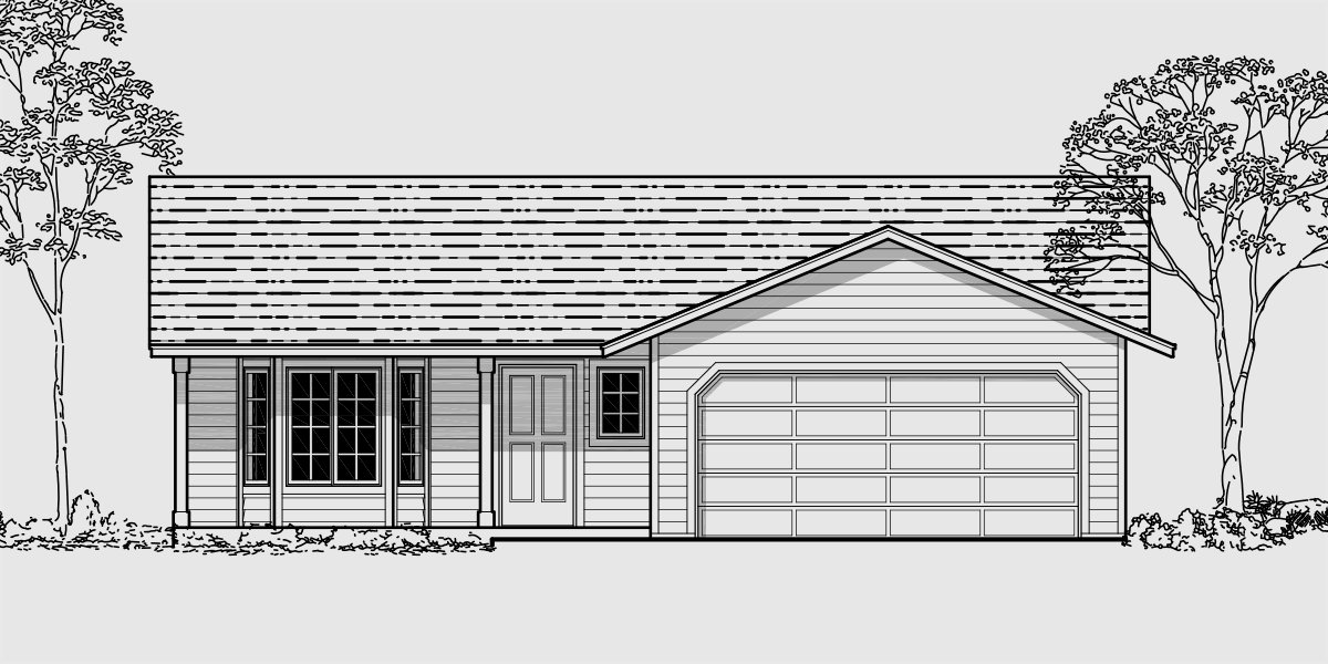 Best Small Affordable House Plans And Simple House Floor Plans With Pictures